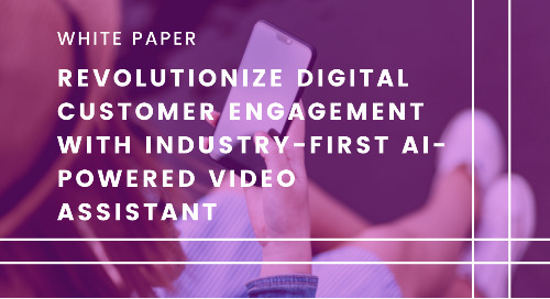Revolutionize Digital Customer Engagement with Industry-First AI-Powered Video Assistant