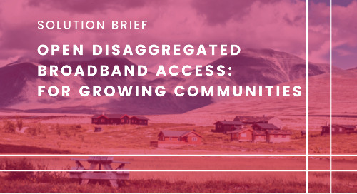 Open Disaggregated Broadband Access: For Growing Communities