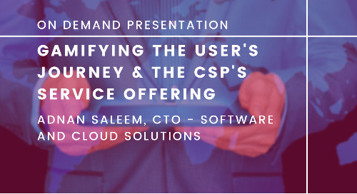 Gamifying the User's Journey and the CSP's Service Offering