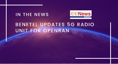 Benetel updates 5G radio unit for OpenRAN