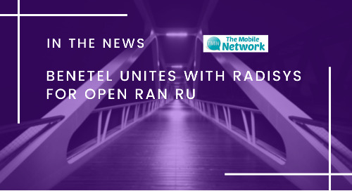 Benetel unites with Radisys for Open RAN RU