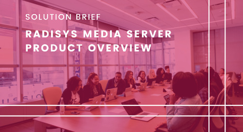 Radisys Media Server  Product Overview
