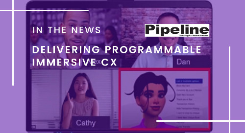 Delivering Programmable Immersive CX