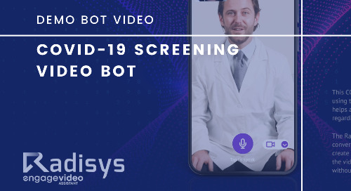 COVID-19 Screening Video Bot