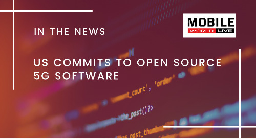 US Commits to Open Source 5G Software