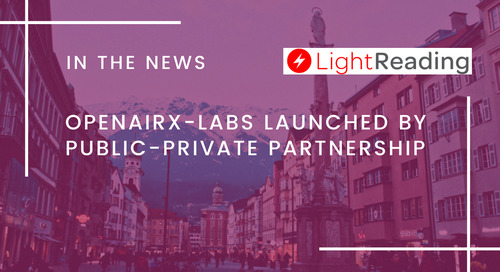 OpenAirX-Labs Launched by Public-Private Partnership