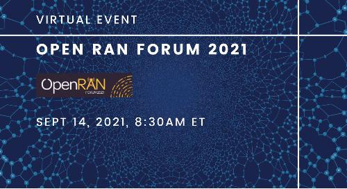 Open RAN Forum | September 14