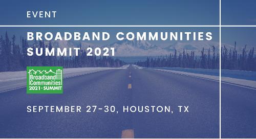 Broadband Communities Summit | September 27-30