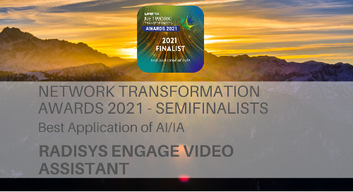 2021 Network Transformation Award Semifinalists