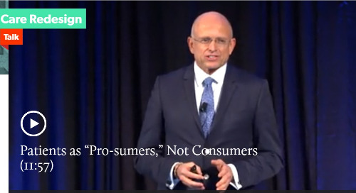 "Patients as ""Pro-sumers,"" Not Consumers"