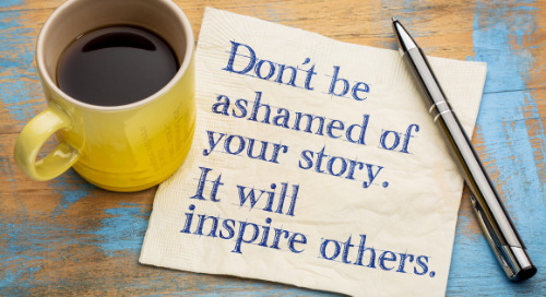 Time to Talk: The Importance of Sharing Your Story