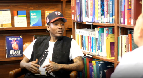 Rapper Dizzy Wright Discusses Homelessness with Dr. Clayton Chau