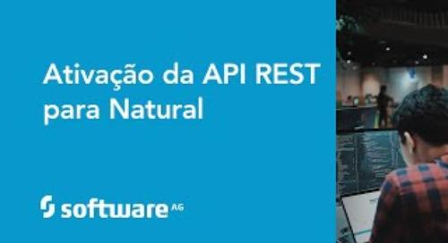Ativação da API REST para Natural