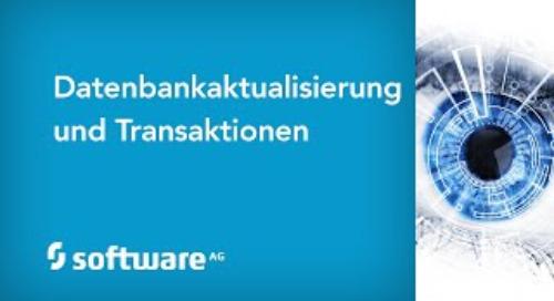 Datenbank- aktualisierung und Transaktionen