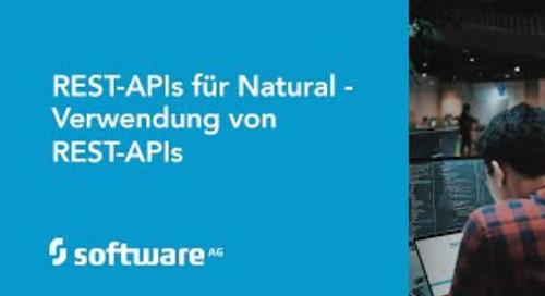 REST-APIs für Natural - Verwendung eines REST-APIs Schnittstelle