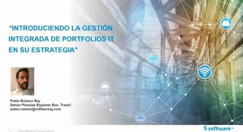 Introduciendo la gestión integrada de portfolios IT en su estrategia con Alfabet