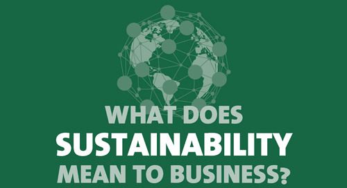 What does sustainability mean to business?