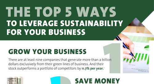 5 ways to leverage strategic sustainability