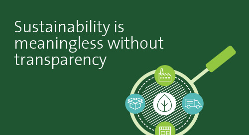 Transparency is critical to sustainability