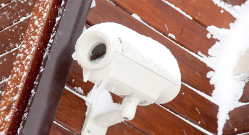 Don't let the weather get the better of your security system hardware
