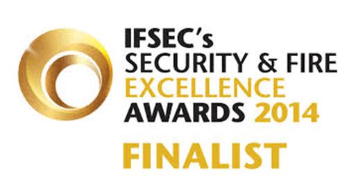 Finaliste pour les Security & Fire Excellence Awards 2014