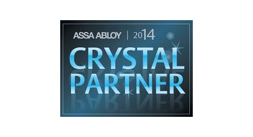 ASSA ABLOY 2014 Crystal Partner Award