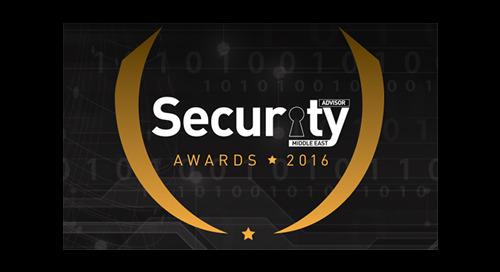 Security Advisor Middle East Awards 2016 – FINALIST
