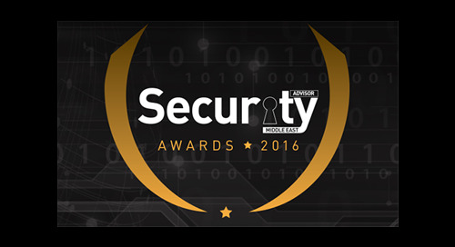 Security Advisor Middle East Awards 2016 – FINALIST