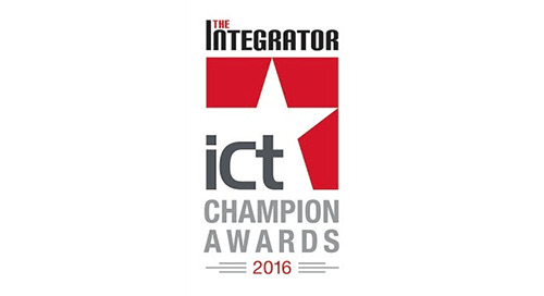 2016 ICT Integrator Champion Awards Winner Secure Access Solutions Vendor of the Year