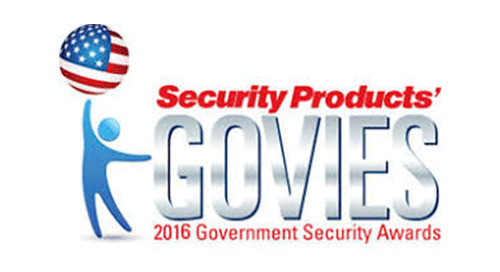 Security Products' GOVIES 2016 Government Security Awards Winner