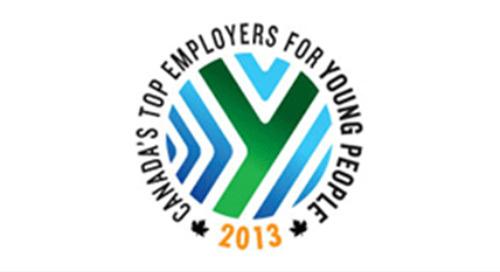 L'un des meilleurs employeurs pour les jeunes canadiens