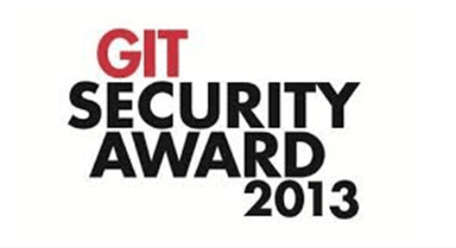 Gagnant 2013 GIT Security Award – catégorie Safety and Security Management
