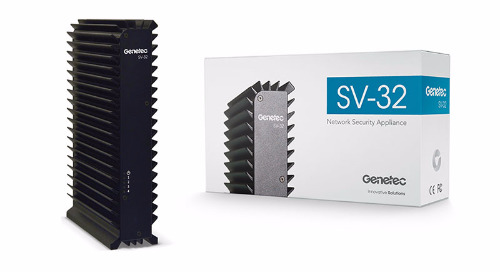 Introducing the Genetec SV-32: Latest addition to the Genetec NVR family