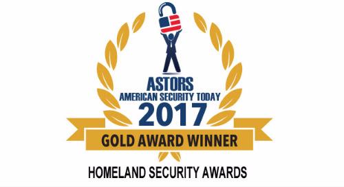 2017 ASTORS Homeland Security Awards - Winner