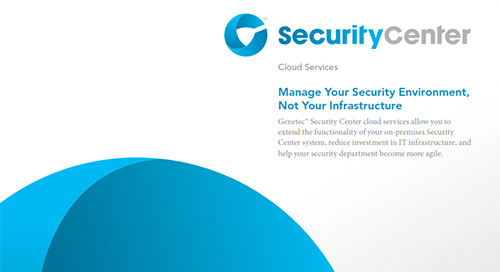 Security Center Cloud brochure