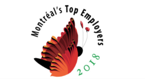 Top employer in Montreal for 2018