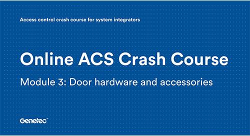 Module 3: Door hardware and accessories (Video)