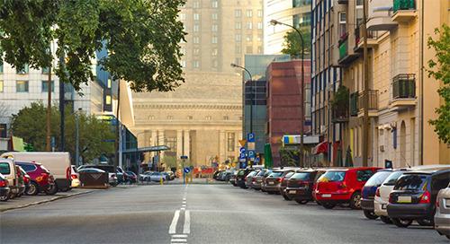 Soluciones de vigilancia y control de estacionamientos para ciudades