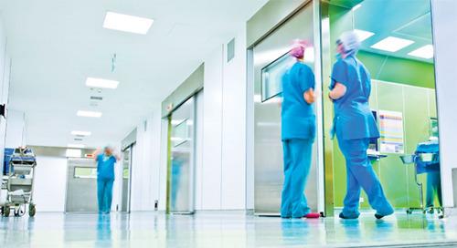 Soluciones de seguridad para hospitales y centros de salud