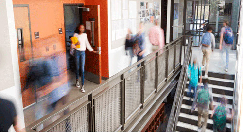 Access control for primary and secondary schools
