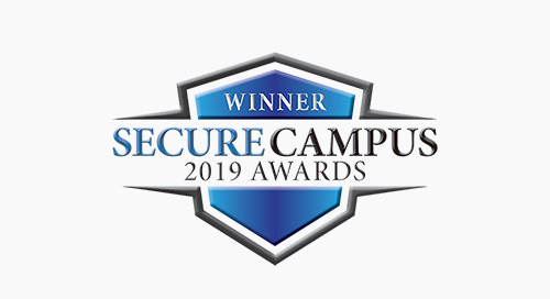 Secure Campus 2019 Awards - Winner