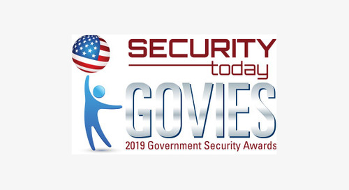 The 2019 Govies Government Security Awards - Winner