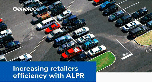 Increasing retailers efficiency with ALPR