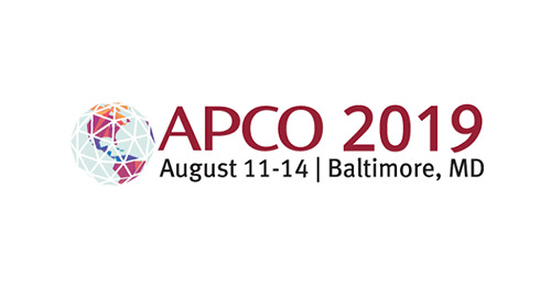 APCO 2019 - Baltimore, MD | August 11 - 14, 2019