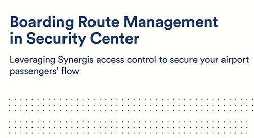 Security Center BRM system