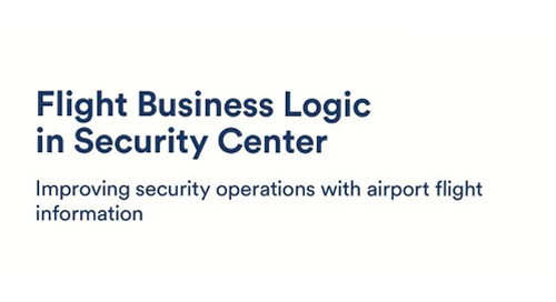Flight Business Logic in Security Center