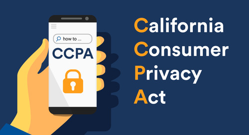 California's new Consumer Privacy act: Are your ready?