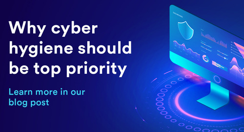 Why cyber hygiene should be a top priority