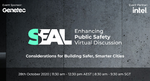 SEAL: Enhancing public safety virtual discussion | October 28, 2020