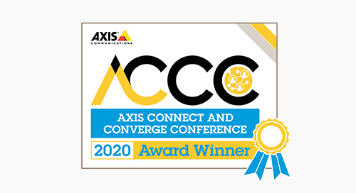 2020 Axis Application Development Partner of the Year - Winner